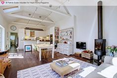 Not a massive fan of open plan, but this is rather lovely