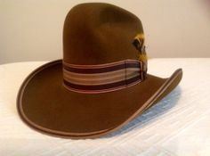 Bradford Stagecoach Men's Western Hat  /  by Cheapvintagefashion, $89.00