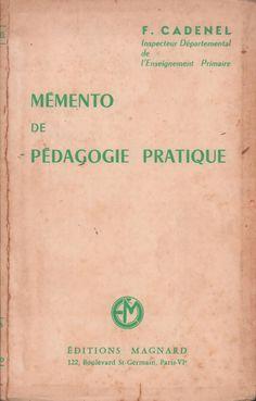 Cadenel, Mémento de pédagogie pratique (1960)