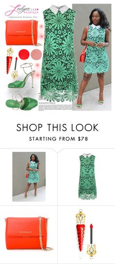 """Ladyee Boutique 5"" by gaby-mil ❤ liked on Polyvore featuring Givenchy, Giambattista Valli, Christian Louboutin, Wander Beauty and ladyeeboutique"