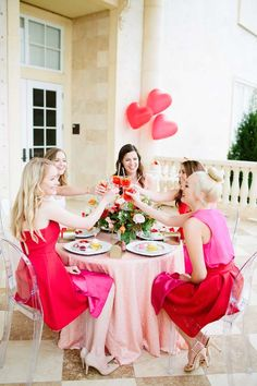 Galentine\'s Day Gala with Tangerine Sangria