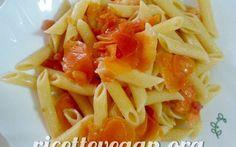 Pasta al pomodoro carote e curry #vegan #vegano #ricettevegan #primiveg