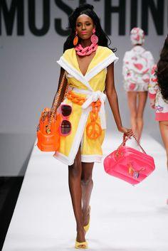 Moschino Spring 2015 Ready-to-Wear Fashion Show - Leila Nda