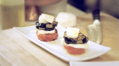 Simple and Savory Grilled Eggplant Stacks