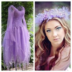 Have to find that icon drawing of a chubby fairy in a lavender dress. Seems to me this might fit the bill! New Adult PLUS SIZE Fairy Dress ~ Couture Costume ~ Headpiece ~ Bridal ~