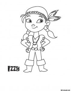 Printable Disney Junior Izzy coloring book pages - Printable Coloring Pages For Kids