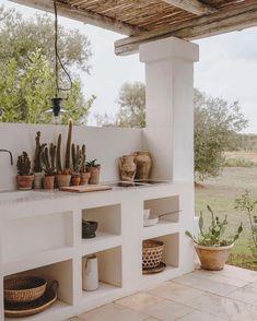 Outdoor Dining, Outdoor Spaces, Casa Petra, Rural House, Outside Living, Beach House Decor, Home Decor, Mediterranean Homes, Design Case