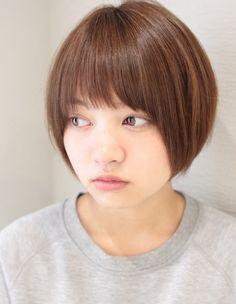 かわいいナチュラル小顔ショート(SG-302)   ヘアカタログ・髪型・ヘアスタイル AFLOAT(アフロート)表参道・銀座・名古屋の美容室・美容院