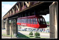 Mud Island Monorail Memphis, TN