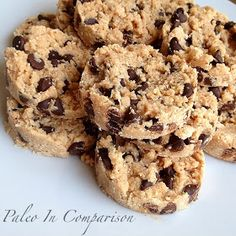 Paleo In Comparison: Chocolate Chip Coconut No-Bake Refrigerator Cookies