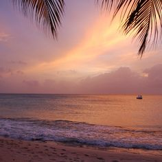 """""""#sundaysunset on #mustique from the Cotton House Beach Bar"""" Photo taken by @pinkhousemustique on Instagram, pinned via the InstaPin iOS App! http://www.instapinapp.com (03/22/2015)"""