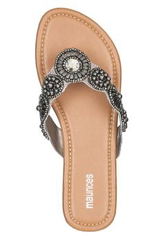 jill medallion thong sandal - maurices.com