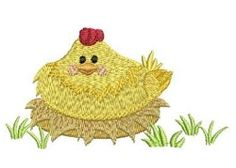 Farm Animals 10 - 4x4 | What's New | Machine Embroidery Designs | SWAKembroidery.com Chicken Ace Points Embroidery