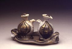 Josh DeWeese - cool interacting teapots - i like how they are similar, yet distinct