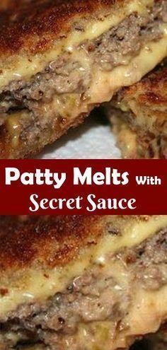 Beef Dishes, Food Dishes, Main Dishes, Hamburger Dishes, Ww Recipes, Cooking Recipes, Sandwich Recipes, Crockpot Recipes, Hamburgers