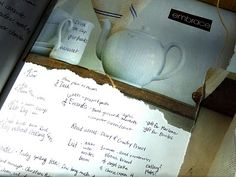 I love the idea of a visual journal!