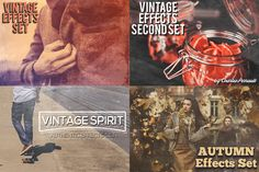 Authentic Effects Bundle ($17 OFF) by Charles Perrault Artworks on Creative Market