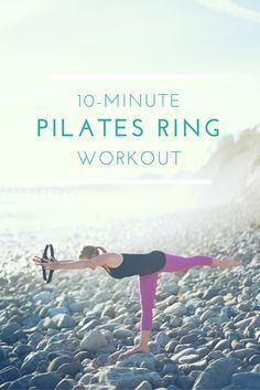 You ask, I deliver! A lot of you have been requesting more workouts using the Pilates ring so I'm excited to share that a new 10-minute Pilates ring workout is up on my YouTube channel! The ring (also known as the magic circle) can be