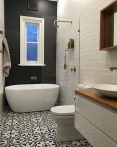 Bathroom Renovation Ideas: bathroom remodel cost, bathroom ideas for small bathrooms, small bathroom design ideas Tiny House Bathroom, Bathroom Renos, Bathroom Flooring, Bathroom Renovations, Bathroom Tiling, Bathroom Small, Bathroom Black, Wet Room Bathroom, Bathroom Vanities