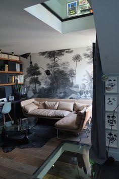 Ananbô panoramic deco paper peint