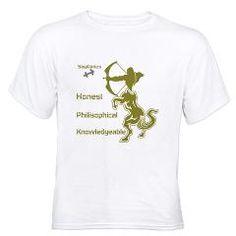 SAGITTARIUS T-Shirt> SAGITTARIUS MEN'S T-SHIRTS & CLOTHING> Wanda's T-Shirts and Stuff $17.99