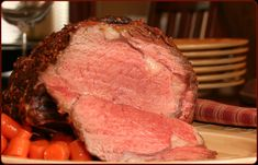 Roast Beef In Salt Crust - Dinner time! - - Prime Ribs -Herbed Roast Beef In Salt Crust - Dinner time! Prime Rib Of Beef, Smoked Prime Rib, Prime Rib Roast, Smoked Ribs, Traeger Recipes, Roast Recipes, Grilling Recipes, Cooking Recipes, Smoker Recipes
