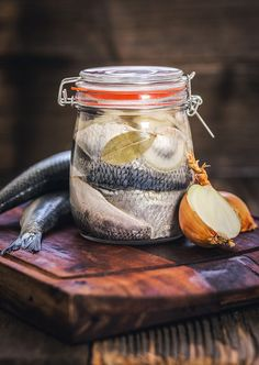 Food 52, Fish Recipes, Mason Jars, Canning, Tableware, Health, Fitness, Home Canning, Fish
