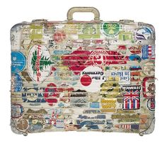 Rimowa suitcases become a heirloom over time. They slowly adapt to the user's identity DIATRAVeL DIA ART TRAVEL