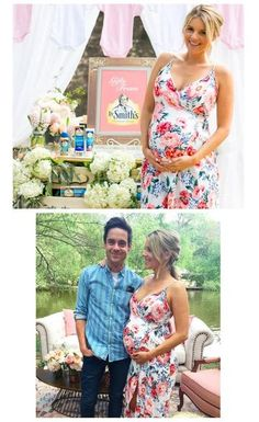 """When it came to finding inspiration for former Bachelorette Ali Fedotowsky's baby shower look, the mom-to-be looked no further than her baby's gender.    """"I really wanted to wear some pink (since I'm having a girl),"""" the reality star wrote on herblog, Ali Luvs, adding """"I wanted my dress to be long (so I could wear flats) and I wanted to show off my belly. I found all of those things in THIS dress! And I'm happy that it's not maternity because this dress is special to me (it's my sh..."""