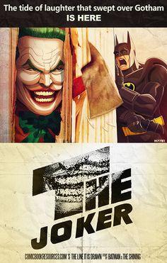 joker shining by Marco Dalfonso