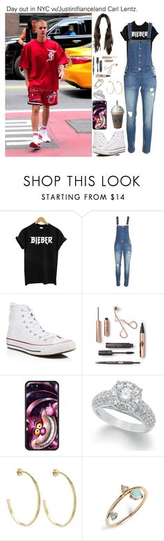 """""""Day out in NYC w/Justin(fiance)and Carl Lentz."""" by tatabranquinha ❤ liked on Polyvore featuring beauty, Justin Bieber, Converse, Joes, Theo Fennell, WWAKE, JustinBieber, NY and celebrity"""