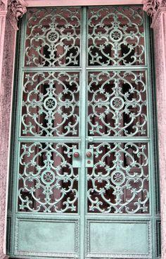 New Orleans, Louisiana image by - Photobucket Door Bench, Building A Door, Window Screens, Unique Doors, Bird Cages, Door Knockers, Architectural Elements, Closed Doors, Architecture Details