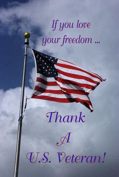 """"""" Thank a Veteran! """"  I DO EVERY TIME I SEE ONE AND I PRAY FOR THEM EVERY NIGHT!  THEY ARE MY HEROES."""
