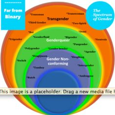 Spectrum of Gender Non Conforming, Genderqueer, New Media, Transgender, Spectrum, Identity, Personal Identity