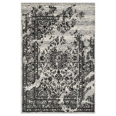 Shop Safavieh  ADR101A Adirondack Silver and Black Area Rug at ATG Stores. Browse our area rugs, all with free shipping and best price guaranteed.