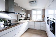 Küchen Design, Interior Design, Kitchen Island, Kitchen Cabinets, Kitchen Dinning Room, Kitchen Interior, Living Room, Home Decor, Home Kitchens