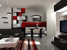 Deko Für Wohnzimmer In Rot