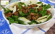 Los Postres de Elena: Ensalada de espinacas con dátiles. http://www.lospostresdeelena.com/2014/07/ensalada-de-espinacas-con-datiles.html