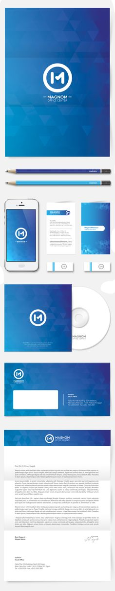 Magnom - Logo Guidelines & Branding identity by Ali Naguib, via Behance #ResponsiveDesign #Responsive #Design #WebDesign #UI #UX #GUI #Brand #marketing