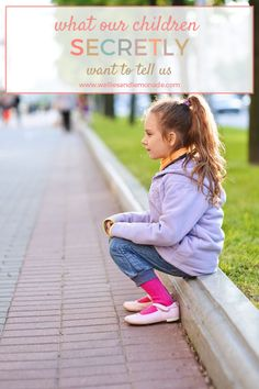 What our children secretly want to tell us and the dangers of present but absent parent. Click through to read now,