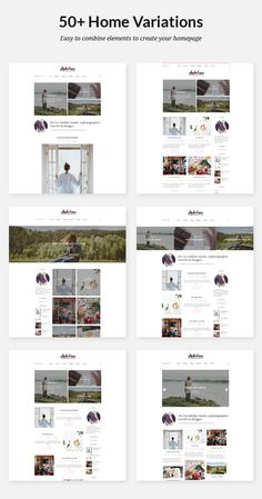 Discover the power of blogging with Adeline Adeline is a beautiful blog responsive WordPress theme with a feminine touch. It has a minimal and lovely design and comes with stunning features such as – multiple homepage layouts, featured sliders, portfolio pages, gallery pages, Instagram photos. It is perfectly suitable for travel, lifestyle, photography, food blogs. …