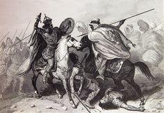 """""""Fatal batalla del Guadalete""""."""