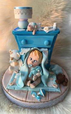 Baby shower cake by Pompea