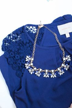 I think I got this blouse once before and sent it back, but I still like it. I like it with the necklace.