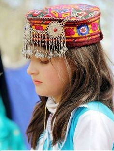 Hunza Valley is rich in its versatile way of fashions, female wear this cap as part of dress.