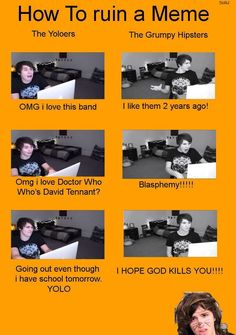 """""""I hope God kills you,"""" XD No offense Dan, but God wouldn't do that! Unless you made him mad!"""