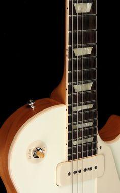 Gibson Custom Shop '54 Les Paul Electric Guitar Classic White | The Music Zoo