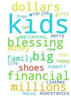 I need a big financial blessing millions of dollars - I need a big financial blessing millions of dollars new car my own house more clothes and shoes for me and my kids electronics appliances toys a lot of gifts for kids and family a happy life of worry f https://ladieshighheelshoes.blogspot.com/2016/11/holiday-sale.html