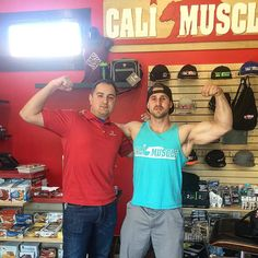 Downtown Campbell: Flex Friday!  Stop by and see the Cali Muscle Team this weekend in downtown Campbell Ca.  We are always here to help! It's a lifestyle  Photo of @ernesto1701 & @calimusclejohn holding it down today at @calimuscle1  #CaliMuscle #CaliMuscleApparel #flexfriday #volkswagen #bayarea #WestCoast #calilivin #DowntownCampbell #SantaCruz #SanJose #TheGrind #bodybuilding #ExtremeSports #itsalifestyle #keepit100 by calimuscle1