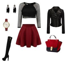 """""""Untitled #2"""" by nermin-cergic ❤ liked on Polyvore featuring güzellik ve FOSSIL"""